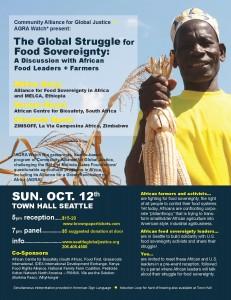 Oct. 12 Event Flyer