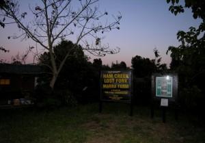Marra Farm at dusk